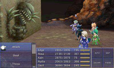FINAL FANTASY IV Full Apk Android Game Free Download