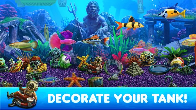 Fish Tycoon 2 Unlimited Money & Gems MOD APK Download