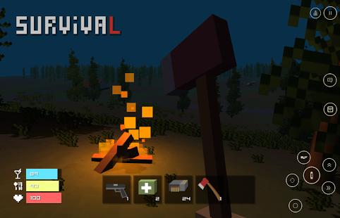 Fünf Nächte bei Craft Lands Voll APK Android Spiel kostenlos heruntergeladen werden