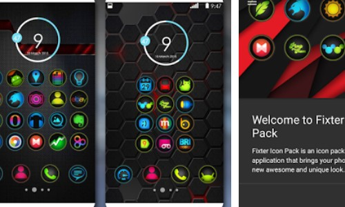 Fixiermittel Icon Pack APK Android