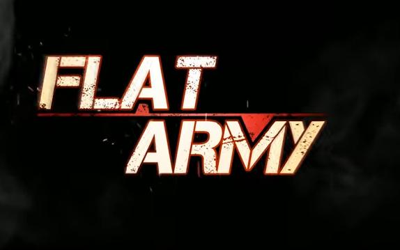 flache Armee sniper Krieg