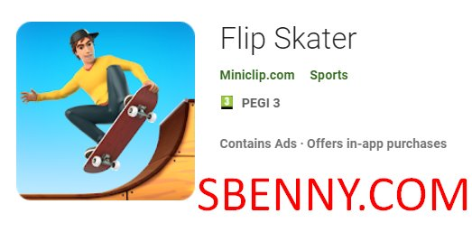 Flip Skater Unlimited Coins MOD APK Free Download