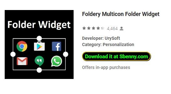 widget dossier foldery multicon