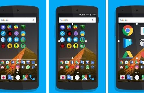 dossier foldery multicon widget APK Android