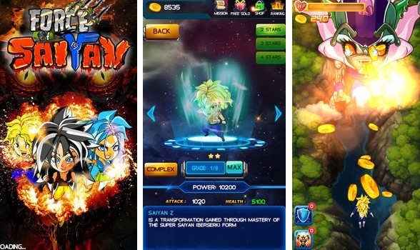 Force of Saiyan: Sky Warrior Unlimited Money MOD Download