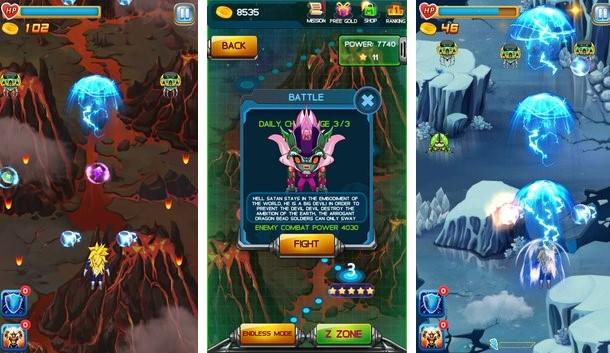 Force of Saiyan: Sky Warrior Unlimited Money MOD Download