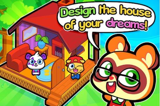 Waldvölker niedlichen Haustier Hause Design-Spiel APK Android