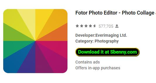 fotor photo editor photo collage and photo effects