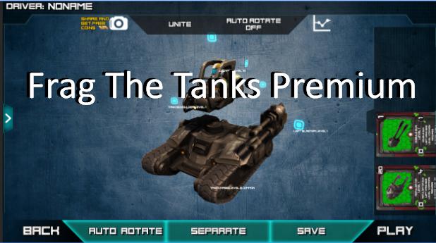 frag la prima tanques