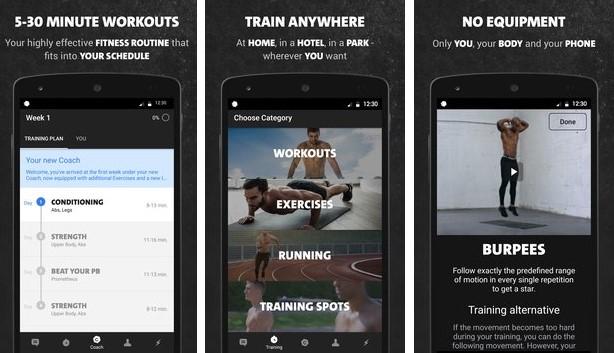Freeletics Körpergewicht APK Android