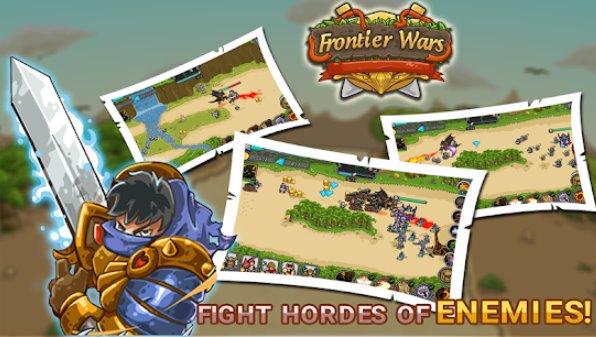guerras de fronteira heróis de defesa jogo td td