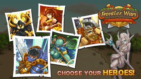 guerras de fronteira heróis de defesa tático jogo td APK Android