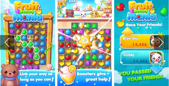 fruit bunny mania APK Android