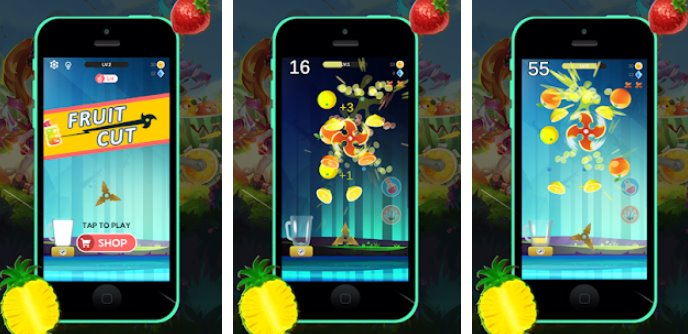 fruit cut APK Android