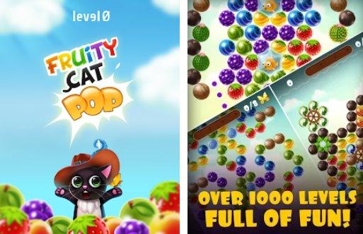 фруктовый кот поп пузырь пузырь шутер