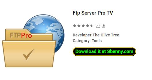 Ftp Server Pro TV APK Android Free Download