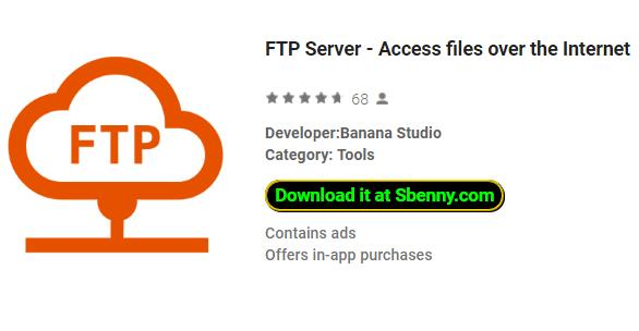 FTP Server Premium purchases unlcoked MOD APK Downlaod