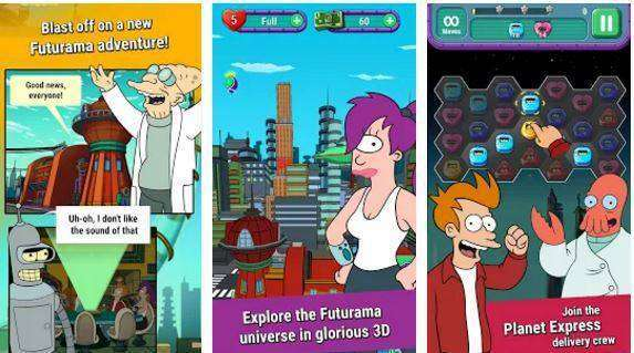 Futurama: Game of Drones MOD APK Android Free Download