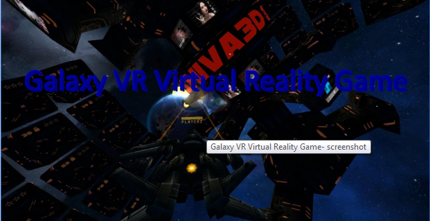 Galaxy VR Virtual Reality Spiel