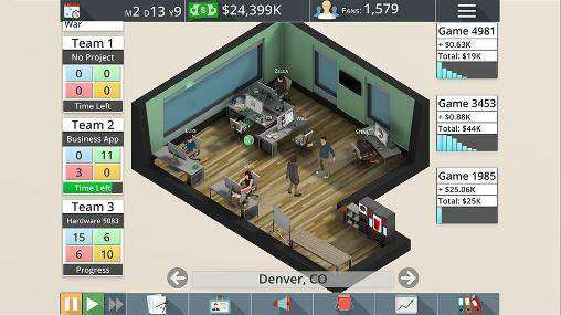 Game Studio Tycoon 3 APK Android