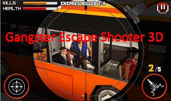 Gangster entkommen Shooter 3D