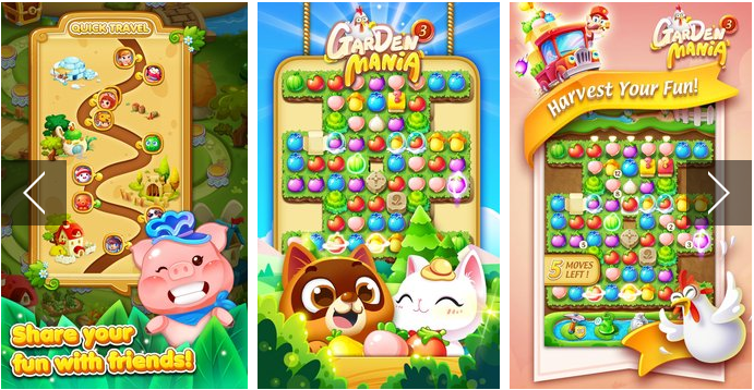Garden Mania 3 Catch Rabbits APK Android