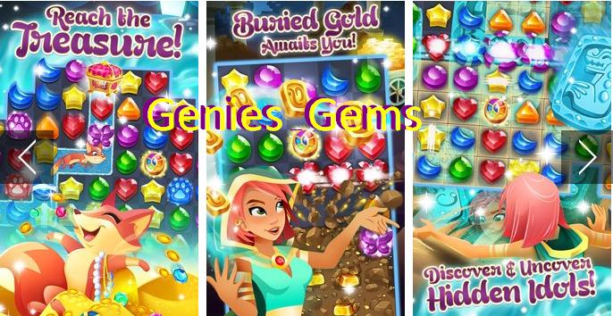 Genies & Gems Boosters Unlocked MOD APK Free Download