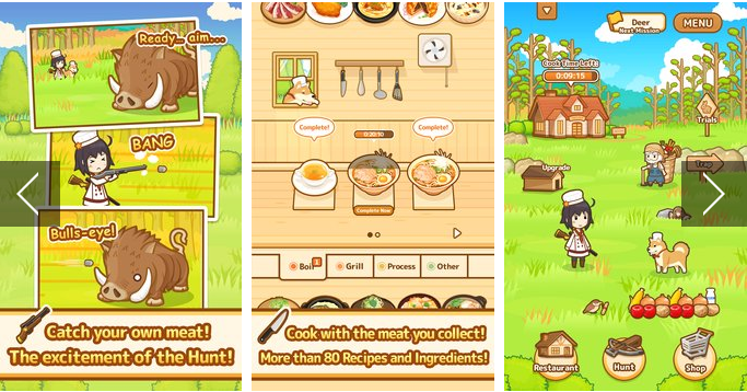 Hunt Cook Catch and Serve APK Android