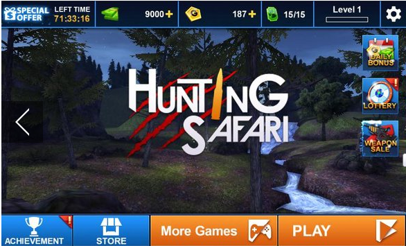 Kaċċa Safari 3D
