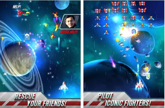 guerras Galaga APK Android
