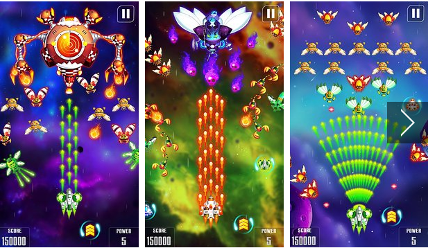 galaxy attack Space Shooter APK Android