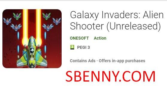 Galaxy Invaders: Alien Shooter Hack MOD APK Free download