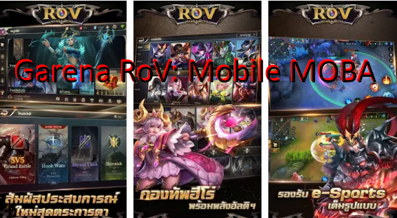 Garena RoV: Mobile MOBA MOD APK for Android Free Download