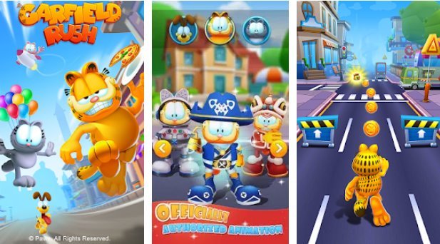Garfield Rush Hack Mod Apk Free Download