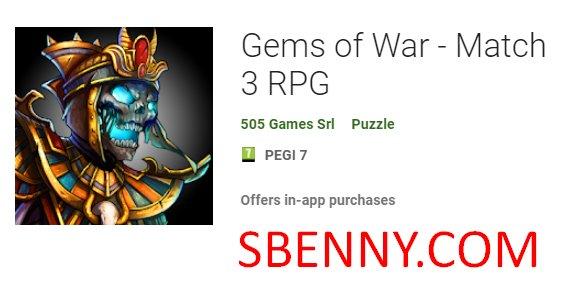 Gems of War - Match 3 RPG Unlimited Gems MOD APK Download