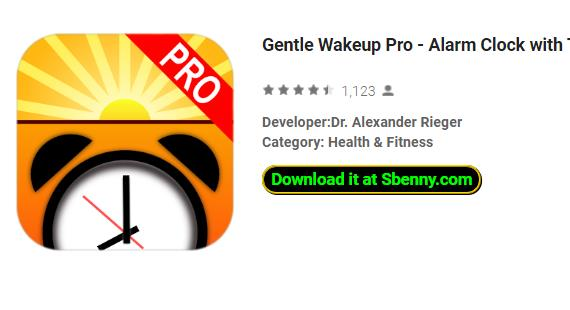 Gentle Wakeup Pro Pro Paid APK Free Download