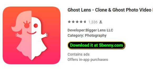 Ghost Lens Pro Editor APK Full Free Download