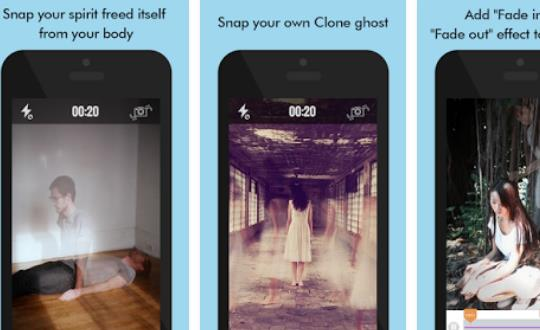 ghost lens clone and ghost photo video editor APK Android