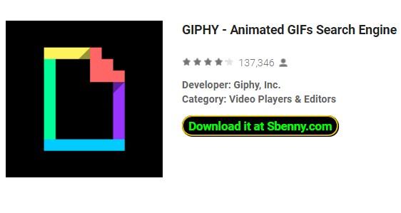 giphy animierte Gif-Suchmaschine