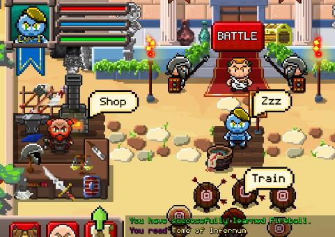 gladiatore che aumenta roguelik rpg APK Android