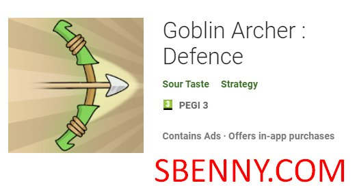 goblin archer defence
