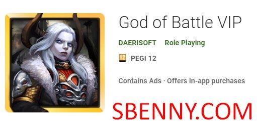 dios de la batalla vip