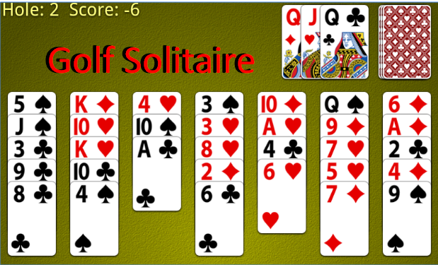 Solitaire tal-golf