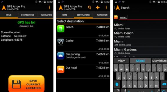Gps arrow navigator pro APK Android