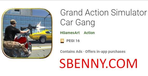 gran simulador de acción new york car gang