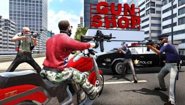 gran simulador de acción new york car gang APK Android