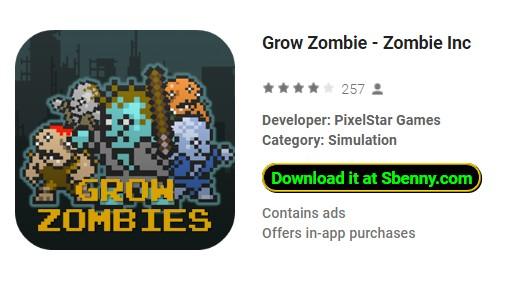 grandir zombie zombie inc