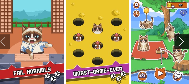 grumpy cat s worst game ever APK Android