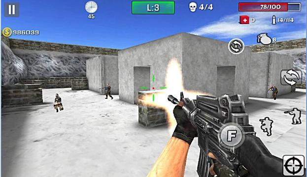 Waffe Streik schießen APK Android