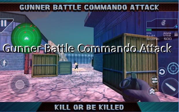 artillero ataque batalla comando